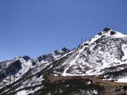 snow mountain in Dali